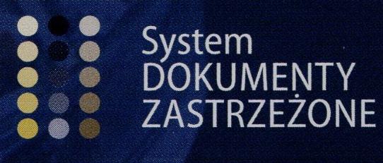 Logo Systemu Dokumenty Zastrzeżone