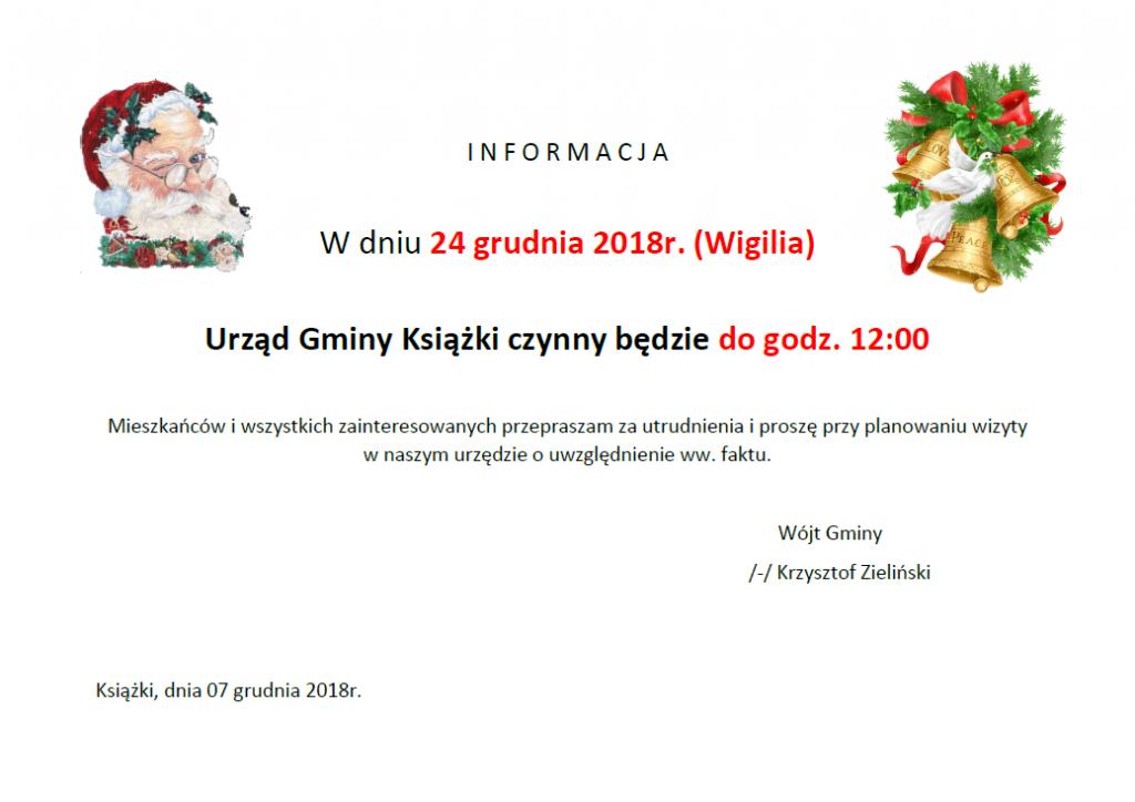 wigilia UG